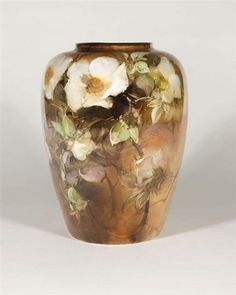 Belleek porcelain vase