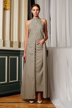 Rosie Assoulin Spring 2015 Ready-to-Wear Fashion Show Kurta Designs, Blouse Designs, Dress Designs, Indian Dresses, Indian Outfits, Dress Over Pants, Casual Dresses, Fashion Dresses, Indian Fashion