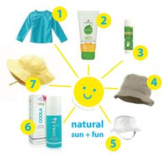 Did you know many natural baby and children's sunscreens contain chemical sun blockers as the active ingredient? Truly natural sun care tips for babies + children. | wordplayhouse® |