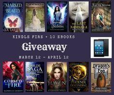 Amazon Kindle Fire HD 8″ + 10 Fantasy Ebooks!