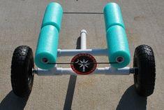 PVC kayak cart ideas...