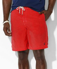 Polo Ralph Lauren Swimwear, Core Kailua Swim Trunks - Mens Swim - Macy's