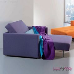 www.muebleslluesma.com  Comprar online sofá cama. Sillón cama Telma individual de 80, 90 o 120 cm.
