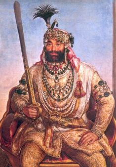 Maharaja Sher Singh (1807 - 1843) was a Sikh ruler of the sovereign country of Punjab and the Sikh Empire. He became Maharaja on January 27, 1841, after the sudden death of Nau Nihal Singh whose death was set in motion, some say purposely, while returning from his father's cremation.