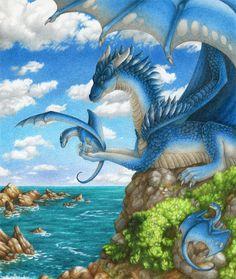 """""""First Flight"""" by Dragarta - dragons!"""