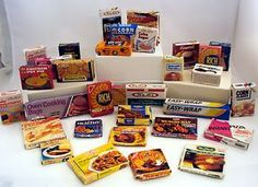 Big Lot of Vintage Boxed Name Brand Food Items for Dolls!