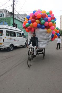 This Is One Man I Love ..On The Streets Of Hyderabad