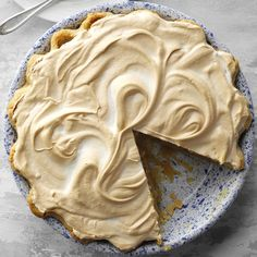 Butterscotch Pie Recipe -I've been cooking since I was a young boy. Now I enjoy preparing foods like this butterscotch pie for my wife. Sticky Toffee Pudding, Pie Recipes, Dessert Recipes, Recipies, Sauce Recipes, Pastry Recipes, Cookie Recipes, Butterscotch Pudding, Butterscotch Cookies