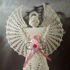 Ангел ( связан крючком)