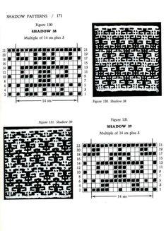 Mosaic Knitting Barbara G. Walker (Lenivii gakkard) Mosaic Knitting Barbara G. Walker (Lenivii gakkard) #176
