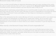 clerk of courts broward county Clerk Of Courts, Internet News, Twitter Followers, Broward County, Advertising Agency, All I Want, San Diego, Coupon, Coupons