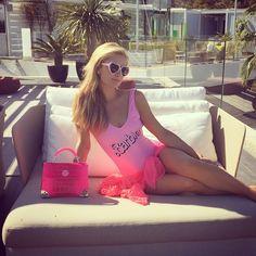 @ParisHilton  Chilling in #Paradise.  #Barbie #BarbieStyle #Beauty #Fashion #Love #ParisHilton #Style #Swimwear #Vogue