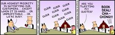 Dilbert and the CEO Social Media Brand