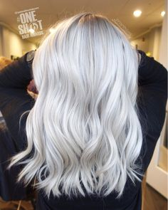 "244 Likes, 1 Comments - Tressa Yanchuk (@tressesbytress) on Instagram: ""WHITE OUT ❄️ #btconeshot_platinum17 #behindthechair #behindthechaironeshot #platinum…"""