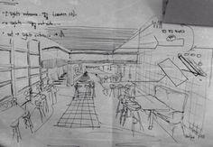 Architecture living style Sketch by architect david sousa #archdavids