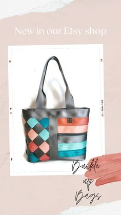 unique gift for mom best friend birthday gift for her seatbelt shoulder bag for women trending now durable travel bag repurposed bag