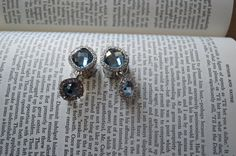 Hey, I found this really awesome Etsy listing at https://www.etsy.com/listing/174945094/light-blue-dangle-plugs-with-cz-diamonds