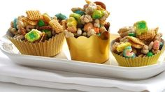Pot o' Gold Snack Mix for St. Patrick's Day.