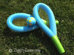 Creative Pool Noodle Crafts to Make this Summer - Crafty Morning