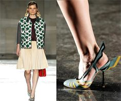 Extravagant shoes - from Spring Summer 2012 collections. Click on the photo to see Vogue Italia's choices.