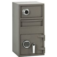 Southern California Safe Company F-2014C-LOC Depository Safe by Southern California Safe Company. $490.05. Design is stylish and innovative. Satisfaction Ensured.. Manufactured to the Highest Quality Available.. Great Gift Idea.. Solid plate steel construction with a 1/2 Thick door U.L. Listed Group II lock with autolocking feature and anti-fishing security. Outside dimensions 27 X 14 X 14.. Save 26% Off!