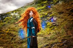 Merida [feat. Will O' The Wisps (x4)] (Cosplay by CamilliaCourtsPhoto @Facebook) #Brave