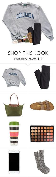 Big meet shopping tomorrow by sanddollars ❤ liked on Polyvore featuring Columbia, J.Crew, Longchamp, Birkenstock, Kate Spade, Morphe and Howard Elliott