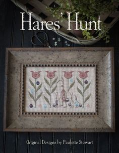 "PLUM STREET SAMPLERS ""Hare's Hunt"" 