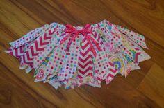 Shabby Chic Fabric Tutu's by DarlinDsDesigns on Etsy