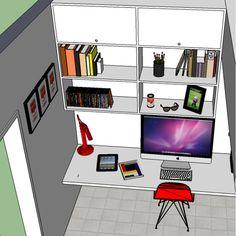 Escritório de apartamento - ninatangerina