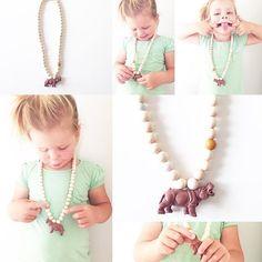 Www.lievenhip.nl #dierenketting #accessoires #cadeautje #ketting #kindersieraden