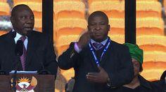 Outrage Over Sign Language Interpreter At Madiba Memorial - Yahoo News