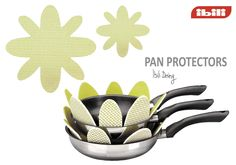Protect your frying pans from scratches.