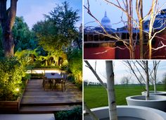 #modern #gardens and #roof #terraces by mylandscapes in #London and the #countryside #design and #photographs by Amir Schlezinger left photograph by Lucy Fitter