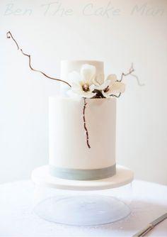 Modern magnolia cake |ben the cake man