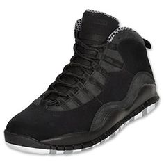 I LOVE JORDANS! :) The Jordan Retro 10 (X) Men's Shoes might remind you of the Air Jordan X. With leather upper and some suede for durability, the retro Jordan's are fairly simple and straightforward. A Jumpman logo on the back and outsole adds style, and you can't forget the outsole that lists Jordan's accomplishments.