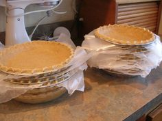 Thy Hand Hath Provided: Preparing for Holiday Baking