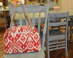 Hey, I found this really awesome Etsy listing at https://www.etsy.com/listing/177676909/overnight-bag-departure-satchel-carry-on