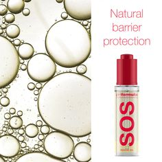 The unique SOS rescue oil improves collagen production and softens the look of fine lines and wrinkles while visibly firming skin. It also provides a natural barrier protection for the skin during the hot summer months. Summer Skin, Peeling, Summer Months, Collagen, Skin Care, Oil, Natural, Unique, Design