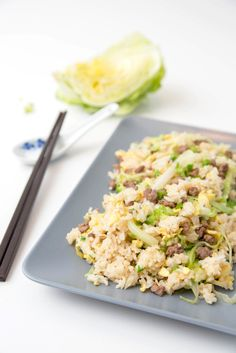 Hong Kong Style Beef Fried Rice | The Missing Lokness