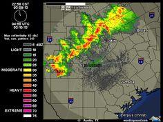 11pm  3/9/2013      Austin-San Antonio Radar | Weather Underground