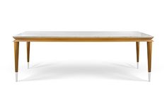 The Eva by MOYA, is a bold combination of materials and colors - cold marble and warm wood. The table is light, clean, slender and discreet, yet stylish and thought out to the slightest detail. Due to the size of the table, the top is not aggressive and it floats on the air between the posts. It is interesting that the Eva actually has two layers - the interior is made of warm wood, so every contact with the exterior (top and feet) is highlighted with changes in color and material. Dining Bench, Modern Design, Furniture Design, Warm, Interior, Layers, Tables, Cold, Posts