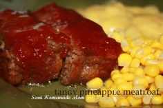 Tangy Pineapple Meatloaf