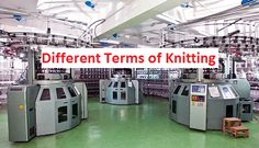 List of Terminology Used in Knitting Technology