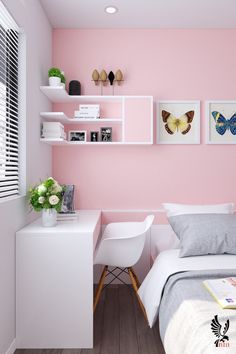 27 Inspiring Teen Bedroom Ideas You Will Love - Informationen zu 27 Inspiring Teen Bedroom Ideas You Will Love Pin Sie k nnen mein Profil ganz ei - bedroom diykidroomideas hyggehomeinspiration ideas Inspiring love Teen Small Space Bedroom, Room Design Bedroom, Small Room Design, Girl Bedroom Designs, Room Ideas Bedroom, Home Room Design, Home Decor Bedroom, Bedroom Furniture, Bedroom Hacks