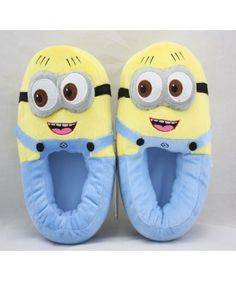 Despicable Me Minion Adult Slippers