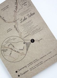 As seen in MARTHA STEWART WEDDINGS.com Custom Wedding Map - Digital File