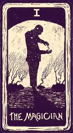 I. The Magician, Light-Visions-Tarot-1 #MediumMaria