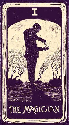The Magician. //light visions tarot.