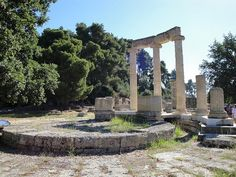 Another stop on our Greek Isles cruise was Katakalon (Olympia), site of the Olympics in ancient times.